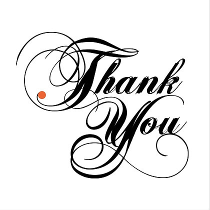 PACK OF 10 THANK YOU CARDS