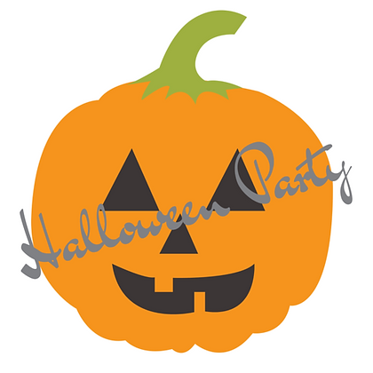 Set of 6 Halloween Invitation Cards Pack A