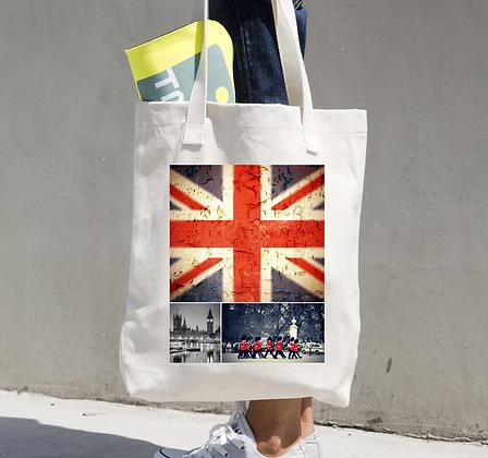Tote Bag Union Jack Design