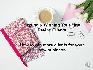 Findin an Winning Clients