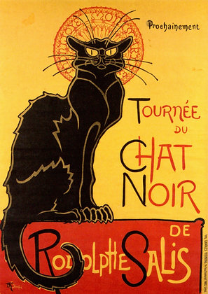 CHAT NOIR ICONIC PRINT