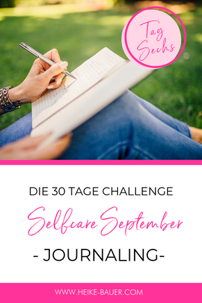 TAG 6 #selfcareseptember / JOURNALING