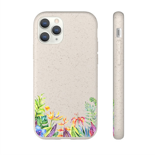 Tropical Theme Biodegradable Case