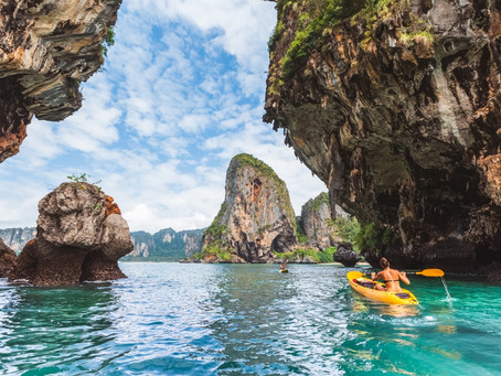 Southern Islands in Thailand... and how to get there