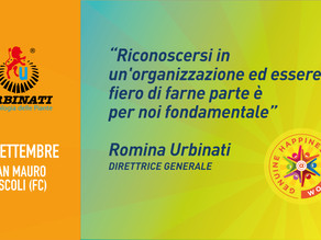 Urbinati SRL - Romina Urbinati - Happiness is Coming