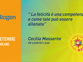 Biogen - Cecilia Masserini - Happiness is Coming
