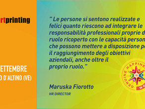 Pixartprinting - Maruska Fiorotto - Happiness is Coming