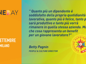 OneDay Group - Betty Pagnin - Happiness is Coming