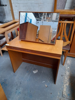 DRESSING TABLE WITH MIRROR £45