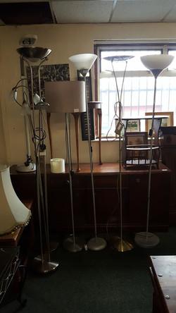 VARIOUS FLOOR LAMPS £10_EACH