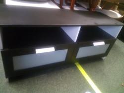 BLACK IKEA TV UNIT £30