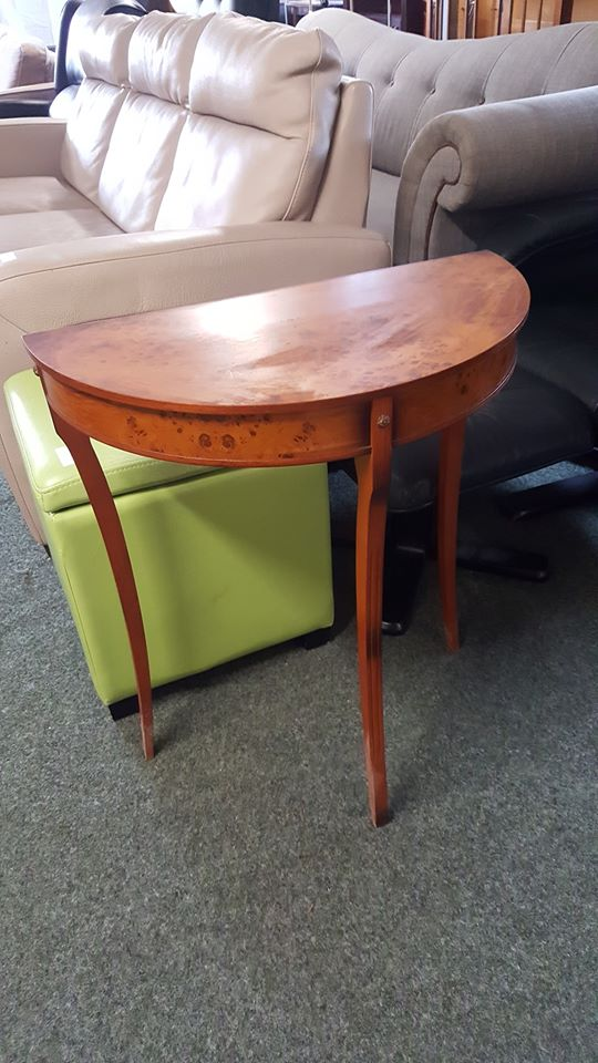 HALF MOON TABLE £25