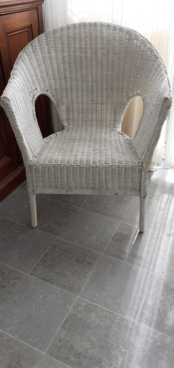 IKEA WICKER CHAIR £20