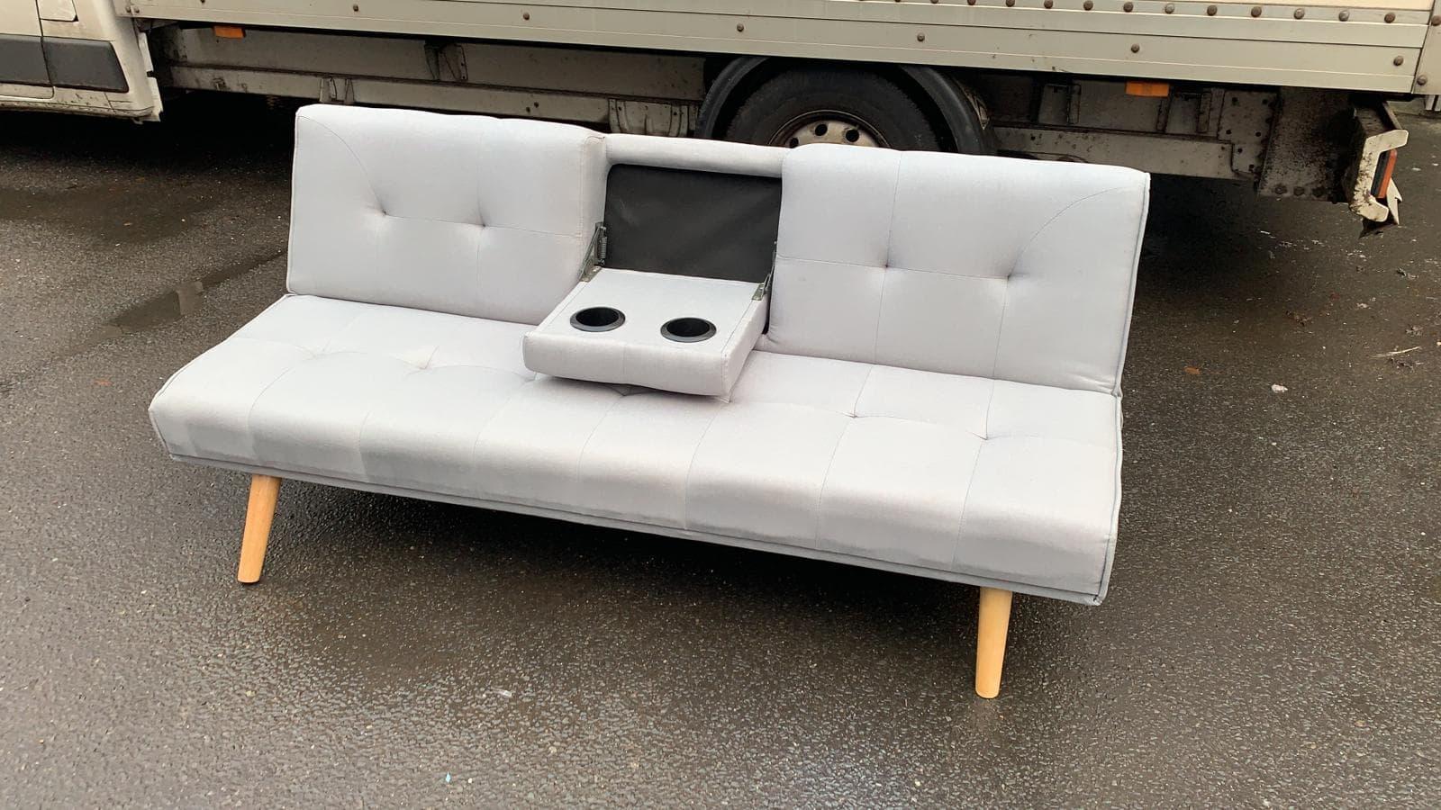 WHITE KLIK KLAK SOFA BED £75