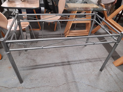 GLASS TOP TABLE £35
