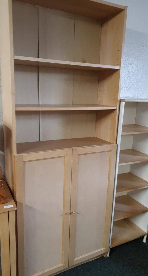 BEECH BOOKCASE £45