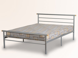DOUBLE METAL BED FRAME MATTRESS NOT INCLUDED £45