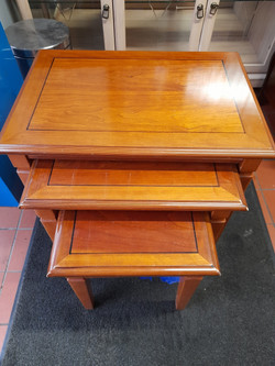 NEST OF TABLES £25