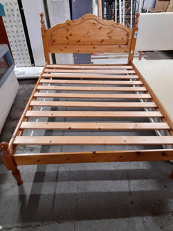 PINE DOUBLE BED FRAME £65