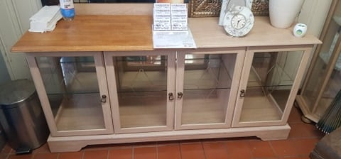 LIMED OAK SIDEBOARD £65