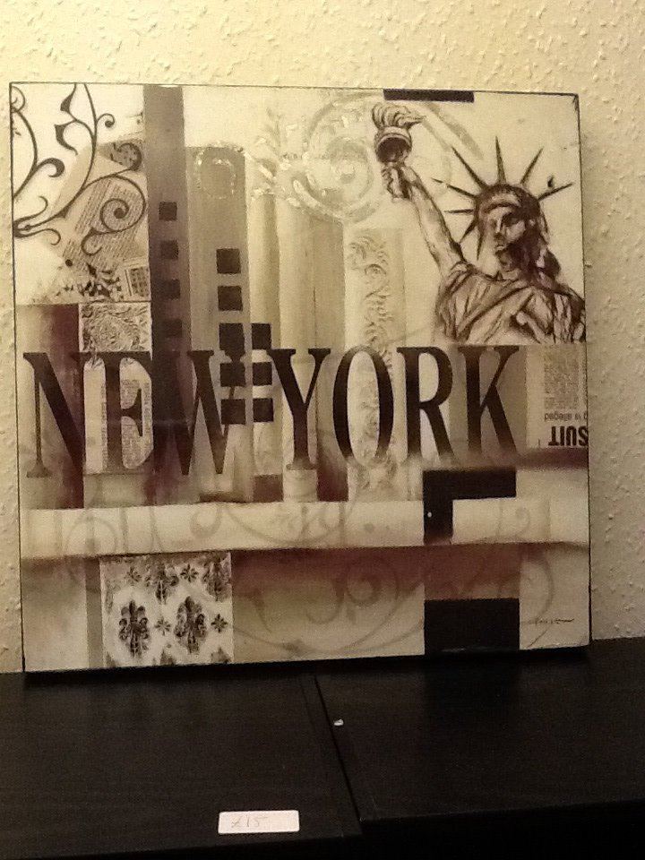 NEW YORK CANVAS £5