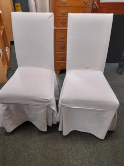 SET OF SIX CHAIRS £90