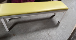 GREEN AND WHITE BENCHES £25