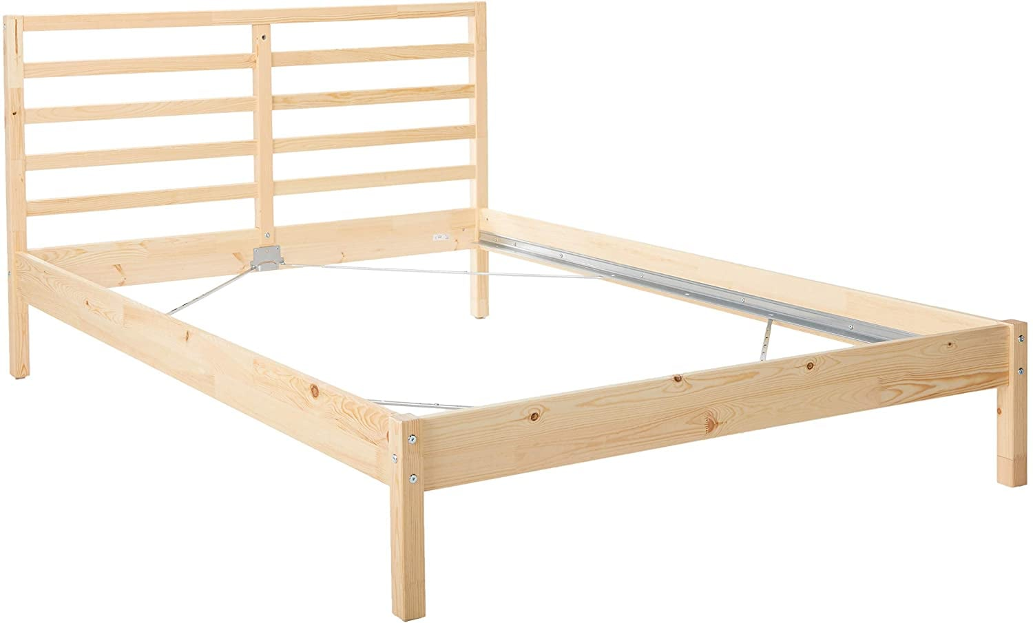 DOUBLE WOODEN BED FRAME £65