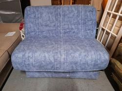 BLUE SOFA BED £75