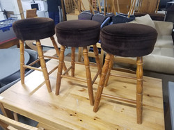 SMALL PINE STOOLS £15 EACH