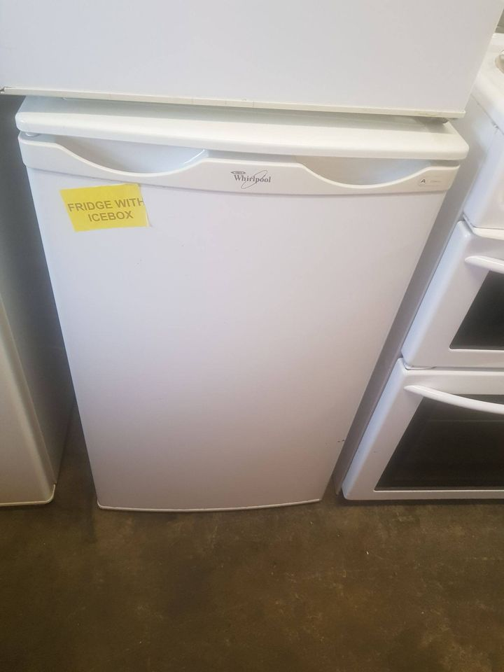FRIDGE WITH ICEBOX £65