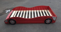 RED CAR BED JUST FRAME £55