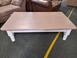 """LARGE COFFEE TABLE 60"""" X 35"""" 16"""" HIGH £45"""