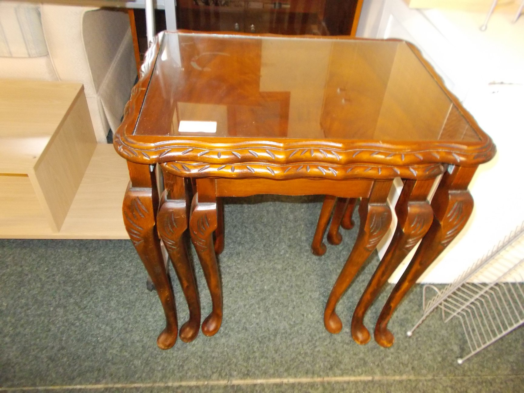 NEST OF 3 TABLES £25