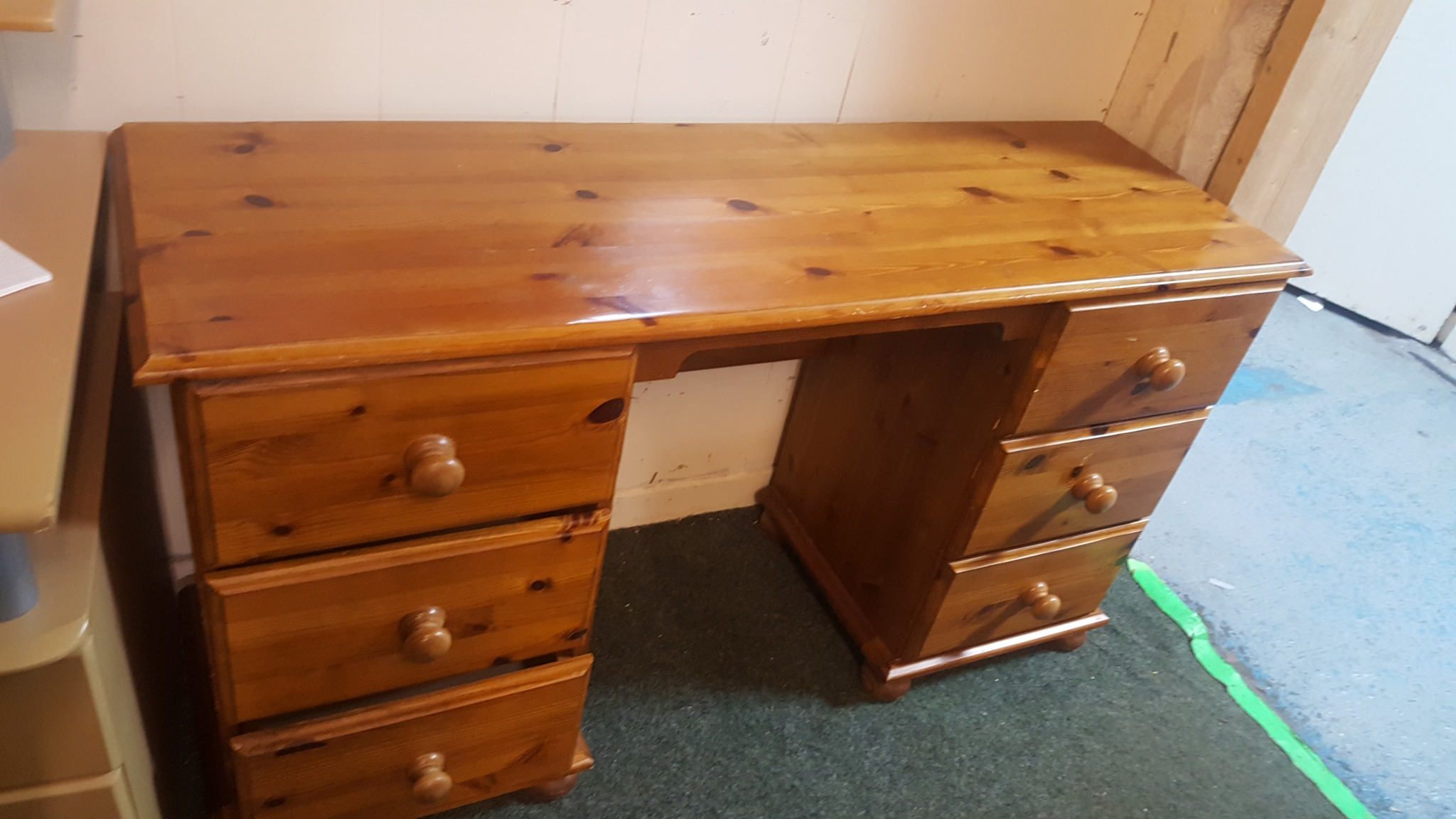 PINE DRESSING TABLE £55