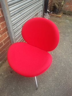 RED TULIP CHAIRS £25 EACH
