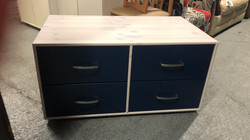 SOLID PINE WOOD DRAWERS £45