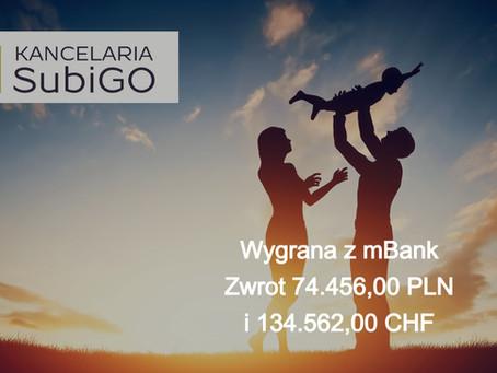 Wyrok w sprawie przeciwko mBank S.A Sygnatura akt I C 620/21
