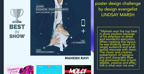 Mahesh Ravi's Design wins International Contest