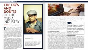 HER magazine interviews Mahesh Ravi