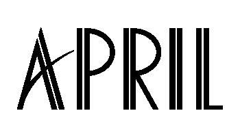 אפריל