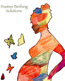 Positive Birthing Solutions Logo square.