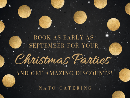 Beat the Holiday Rush! Pre-book your holiday events now!