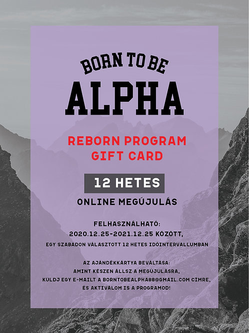 Reborn Program GIFT CARD