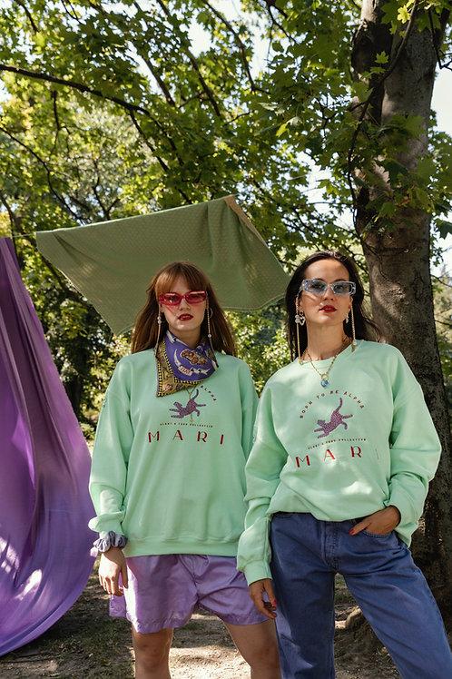 PAT Sweatshirt or Hoodie / Lime