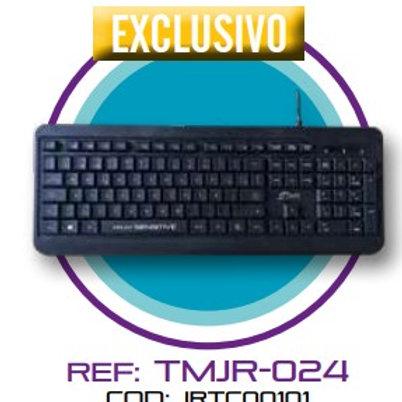 TECLADO MULTIMEDIA CON DISEÑO TMJR024