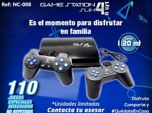POLY STATION GS4 110 JUEGOS NES