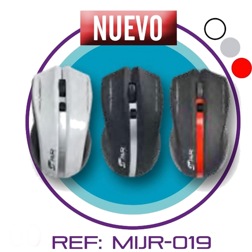 MOUSE INHALAMBRICO J&R MIJR-019