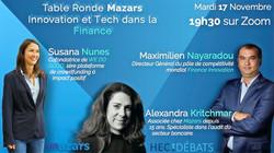 Table Ronde Mazars : Innovation et Tech dans la finance