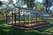 Residential greenhouse in Rio Linda, CA, aluminum